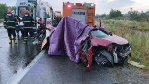 Aydın'daki kazada ölen kadının hamile olmadığı açıklandı