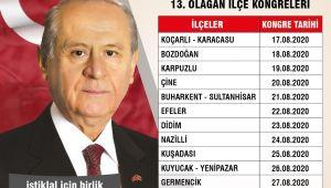 MHP Aydın'da kongre takvimi belli oldu
