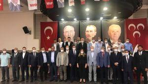 Murat İnan yeniden MHP Kuşadası ilçe başkanı seçildi