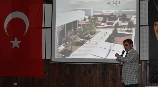 Başkan İnal, hayalindeki projeyi tanıttı
