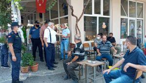 Karacasu'da Korona virüs denetimlerinde 2 bin 700 TL ceza kesildi