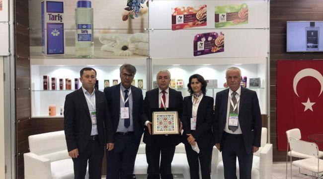 Tariş İncir Birliği'ne Ticaret Bakanlığı'ndan 'başarı' ödülü