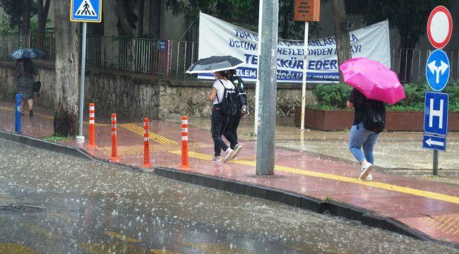 Aydın'da sağanak yağış etkili olacak