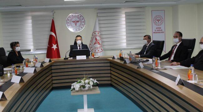 Aydın İl Umumi Hıfzıssıhha Kurulu toplantısı gerçekleştirildi
