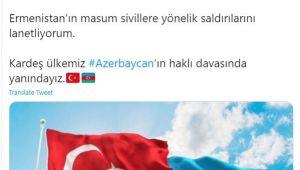 Başkan Çerçioğlu, Ermenistan'ı kınadı