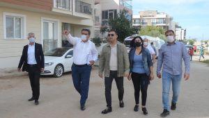 Başkan Günel, mobil makam aracı ile Davutlar'ı ziyaret etti