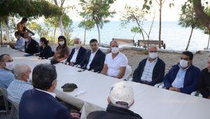 Başkan Günel, toplu taşıma kooperatiflerinin yöneticileri ile bir araya geldi