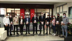 CHP'li yöneticilerden Başkan Atabay'a ziyaret