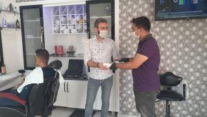 Efeler Belediyesi kuaförleri yalnız bırakmadı