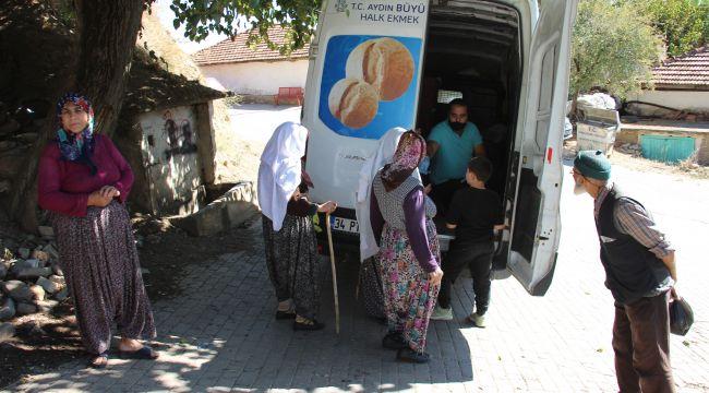 Kırsal kesimde yaşayan vatandaşlar 'halk ekmek' yolu gözlüyor