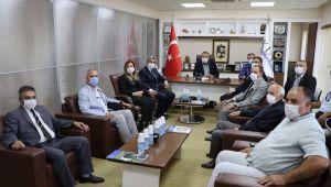 MHP Aydın İl yönetimi Kuşadası'nda ziyaretlerde bulundu