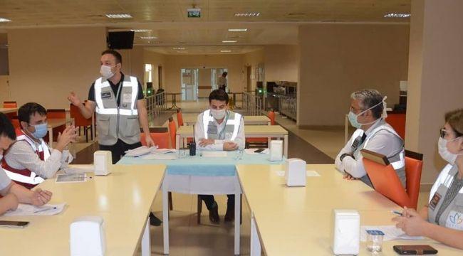 Nazilli Devlet Hastanesi'nde HAP tatbikatı gerçekleştirildi