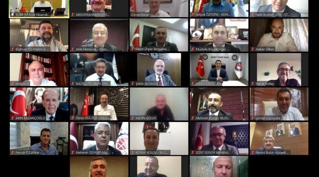 Serdar Akdoğan, Ticaret Odaları konsey toplantısına katıldı