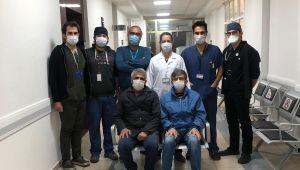 Aort damarları yırtılan kardeşler ADÜ'de gerçekleşen ameliyatlarla hayata tutundu