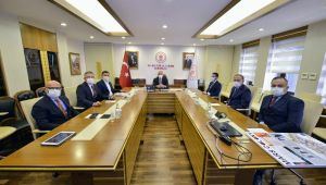Başkan Günel, Kültür ve Turizm Bakanı Ersoy'u ziyaret etti