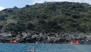 Aydın'da 45 düzensiz göçmen kurtarıldı