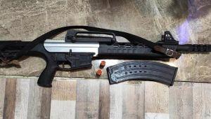 Aydın'da silah kaçakçılığı operasyonu