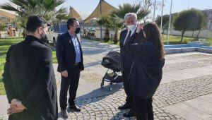 Ukrayna Ankara Büyükelçisi Sybiha,AydınArkeoloji Müzesi'ni ziyaret etti
