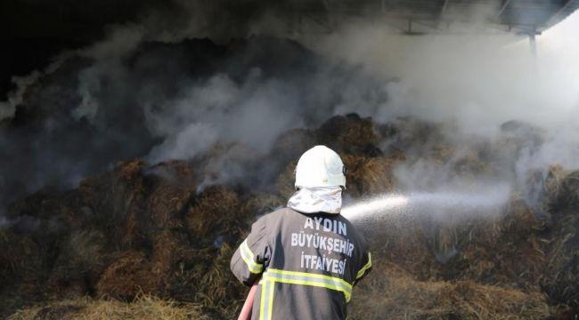 AydınBüyükşehir Belediyesi bir günde 3 yangına müdahale etti