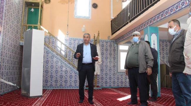 Koçarlı'da Şenköy Camii 37 yıl sonra yenileniyor