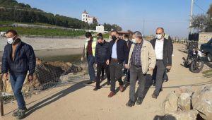 Adnan Menderes Müzesi'ndeki köprü inşaatı tamamlanıyor