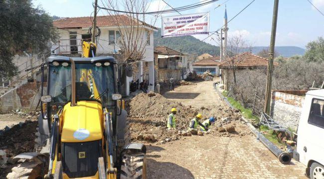 AydınBüyükşehir Belediyesi tarımsal sulama yatırımlarını sürdürüyor