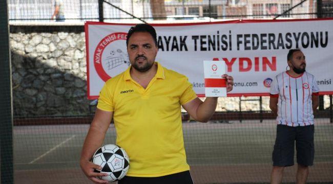 Aydın'da Türkiye Ayak Tenisi Federasyonu eğitim semineri düzenlendi