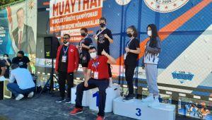 Aydınlı sporcular Muaythai Milli Takımı seçmelerinde göz doldurdu