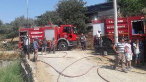 AydınBüyükşehir Belediyesi itfaiye ekipleri günü yoğun geçiriyor