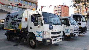 Nazilli Belediyesi araç filosunu güçlendirmeye devam ediyor